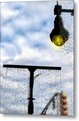 Molly's Window Metal Print by Bob Orsillo