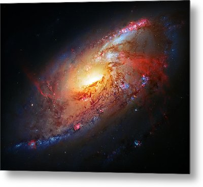 Molten Galaxy Metal Print by The  Vault - Jennifer Rondinelli Reilly