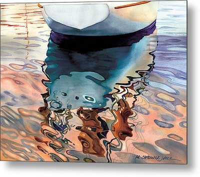 Moment Of Reflection Viia Metal Print by Marguerite Chadwick-Juner