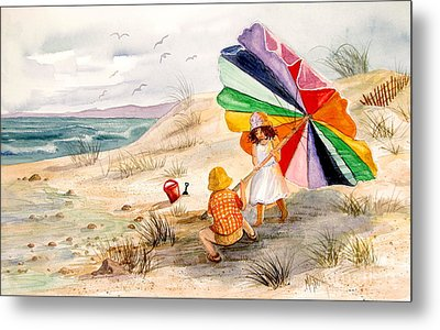 Moments To Remember Metal Print by Marilyn Smith