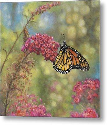 Monarch Butterfly Metal Print by John Zaccheo