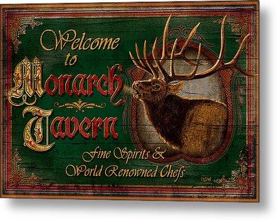 Monarch Tavern Metal Print by JQ Licensing