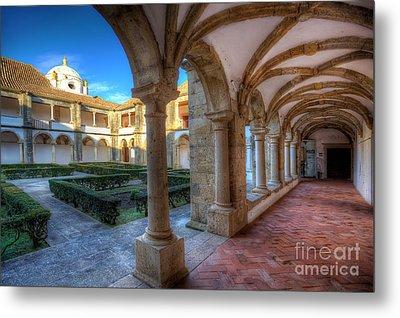 Monastery Of Nossa Senhora Da Assuncao Metal Print by English Landscapes