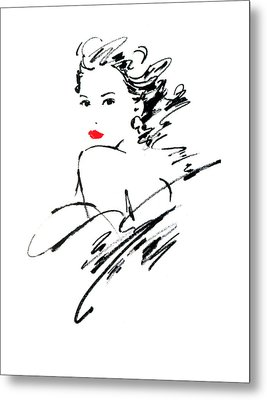 Monique Variant 1 Metal Print by Giannelli