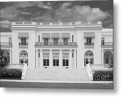 Monmouth University Guggenheim Library Metal Print by University Icons