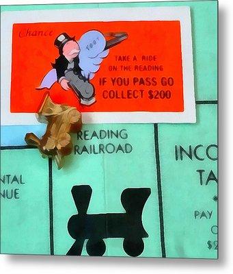 Monopoly Man Metal Print by Dan Sproul