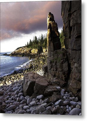 Monument Cove Sunrise 4984 Metal Print by Brent L Ander
