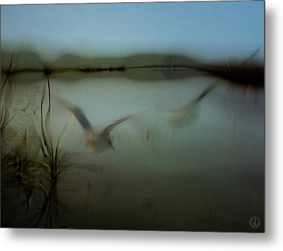 Moody Morning Metal Print by Gun Legler