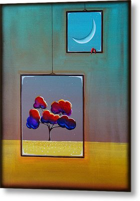 Moonlight Metal Print by Cindy Thornton