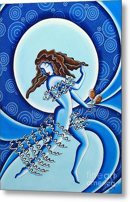 Moonlight Dancer Metal Print by Joseph Sonday