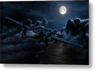 Moonlight Serenade Metal Print by Dale Jackson