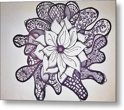 More Than A Flower Metal Print by Lori Thompson