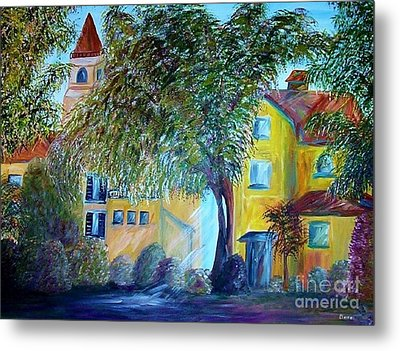 Morning In Tuscany Metal Print by Eloise Schneider