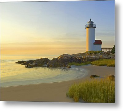 Morning Light Metal Print by James Charles