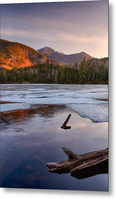 Morning Light On Whiteface Mountain Metal Print by Panoramic Images