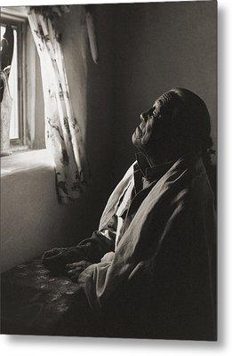 Teresino Jiron - Taos Metal Print by Gary Auerbach