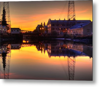 Morning On The River Metal Print by Bill Gallagher