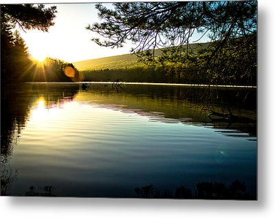 Morning Peace Metal Print by Jahred Allen