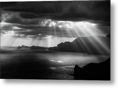 Morning Rays Metal Print by Artfiction (andre Gehrmann)