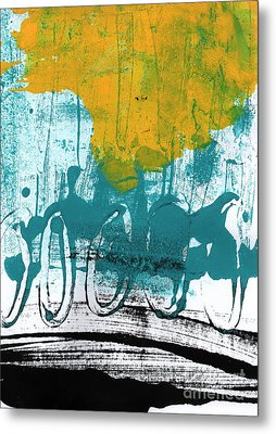 Morning Ride Metal Print by Linda Woods
