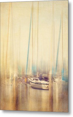 Morning Sail Metal Print by Amy Weiss
