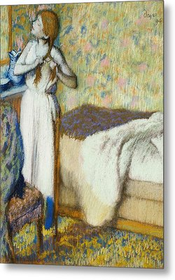 Morning Toilet Metal Print by Edgar Degas
