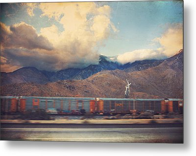 Morning Train Metal Print by Laurie Search