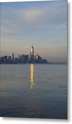 Morning View Of Manhattan Metal Print by Bill Cannon