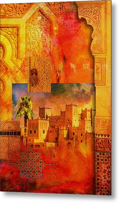 Morocco Heritage Poster 00 Metal Print by Catf
