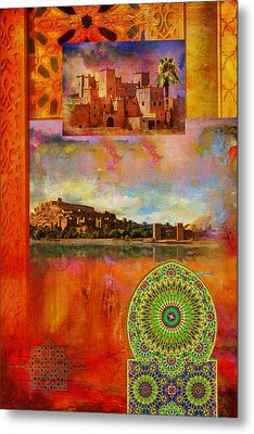 Morocco Heritage Poster Metal Print by Catf