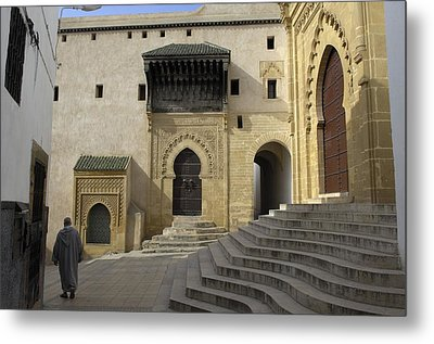 Morocco. Sal�. Great Mosque Metal Print by Everett