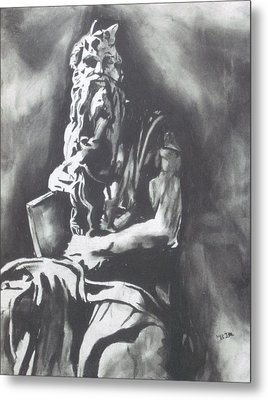 Moses Metal Print by Jeremy Moore