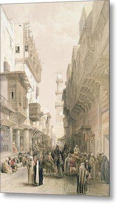 Mosque El Mooristan Metal Print by David Roberts