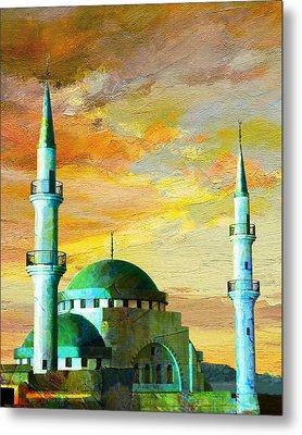 Mosque Jordan Metal Print by Catf