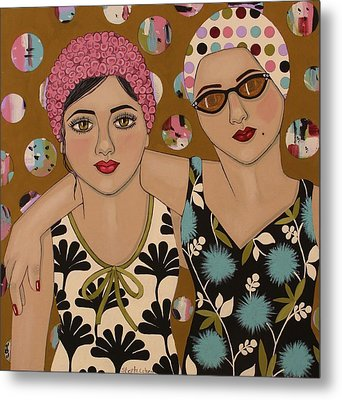 Mother And Daughter Metal Print by Stephanie Cohen