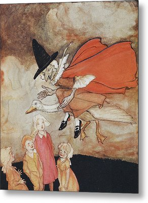 Mother Goose Metal Print by British Library