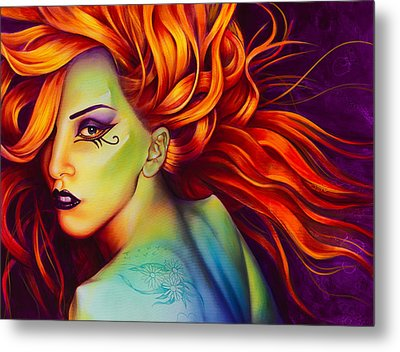 Mother Monster Metal Print by Scott Spillman