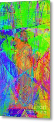 Mother Of Exiles 20130618m120 Long Metal Print by Wingsdomain Art and Photography
