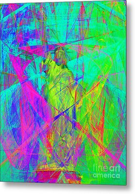 Mother Of Exiles 20130618m60 Metal Print by Wingsdomain Art and Photography