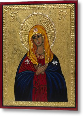 Mother Of Mercy I Metal Print by Ilse Wefers