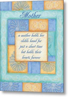 Mother's Day Spa Card Metal Print by Debbie DeWitt
