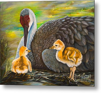 Mother's Love Metal Print by Zina Stromberg