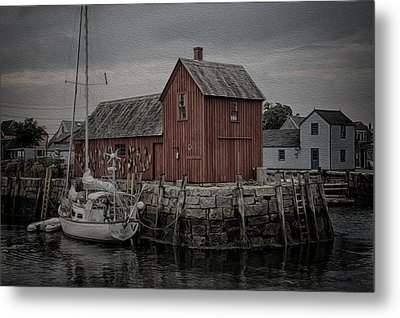 Motif 1 - Painterly Metal Print by Stephen Stookey