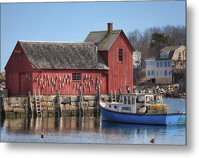 Motif Number 1 Metal Print by Eric Gendron