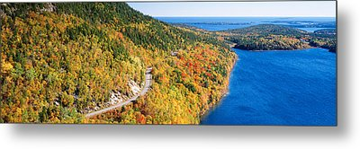 Mount Jordan Pond, Acadia National Metal Print by Panoramic Images