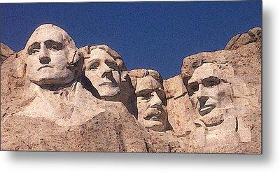 Mount Rushmore American Presidents Metal Print by Art America Online Gallery