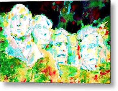 Mount Rushmore  Metal Print by Fabrizio Cassetta