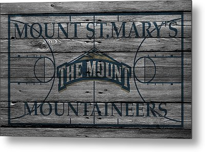 Mount St Marys Mountaineers Metal Print by Joe Hamilton