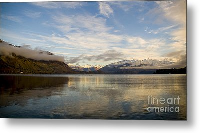 Mountain Dawn Metal Print by Tim Hester