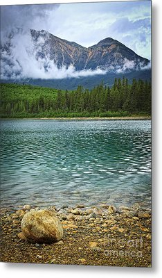 Mountain Lake Metal Print by Elena Elisseeva